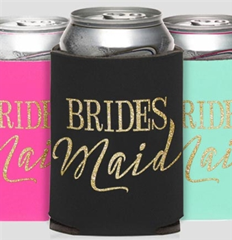 Bridesmaid Modern Can Cooler