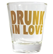 Drunk In Love Shot Glass | Bridal Party Favors | RhinestoneSash.com