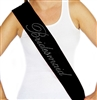 Girly Bridesmaid Rhinestone Sash  | Bridal Sashes | RhinestoneSash.com