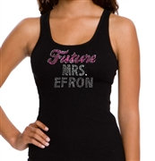 """Future Mrs."" Custom Rhinestone Tank Top 
