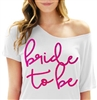 Drunk in Love Sequin Flowy Tee | Bridal T-shirts | RhinestoneSash.com