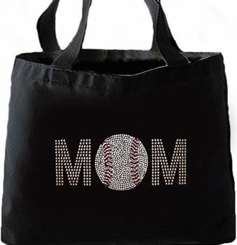 Baseball Mom Large Tote