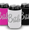 Bride w/Diamond Silver Glitter Can Cover
