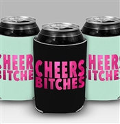Cheers Bitches Can Cover | Bachelorette Party Favors