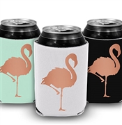 Flamingo Can Cooler