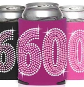 Pink & Crystal 60 Can Cooler