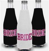 Sporty Bride Bottle Cooler | Bachelorette Party Decor Idea