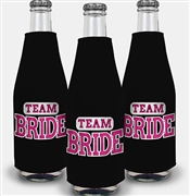 Sporty Team Bride Bottle Cooler