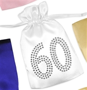 Crystal 60 Satin Favor Bag