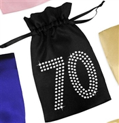 Crystal 70 Satin Favor Bag