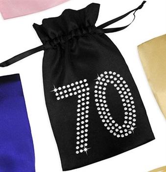 Crystal 70 Organza Favor Bag