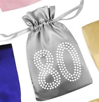 Crystal 80 Satin Favor Bag