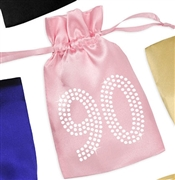 Crystal 90 Satin Favor Bag