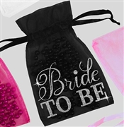 Bride to Be Flirty Organza Favor Bag