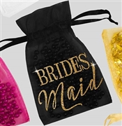 Bridesmaid Modern Organza Favor Bag