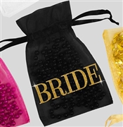 Bride Modern Organza Favor Bag