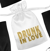 Drunk In Love Satin Favor Bag