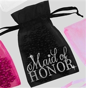 Maid of Honor Flirty Organza Favor Bag