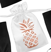 Pineapple Satin Favor Bag