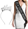 21 & Legally Drunk Headband & Sash Set
