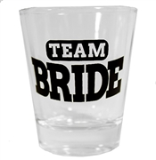 Team Bride Shot Glass | Bridal Party Favors | RhinestoneSash.com