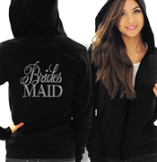 Flirty Bridesmaid Fleece Hoodie