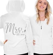The Mrs. EST Chic Rhinestone Fleece Hoodie