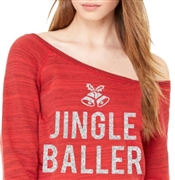 Jingle Baller Fleece Top