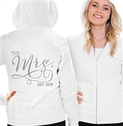 The Mrs. Rhinestone Fleece Hoodie