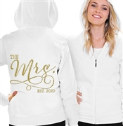 The Mrs. EST 2019 Gold Hoodie