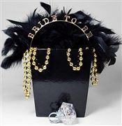 Black Bride To Be Gift Set