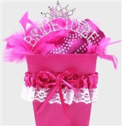 Hot Pink Luxury Bride Gift Set