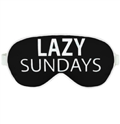 Lazy Sundays Sleep Mask