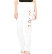 Bride To Be Rose Gold White Lounge Pant