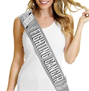 Best Bitches Fighting Cancer Together Sash | RhinestoneSash.com