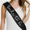 Silver Bride to Be Sash | Bridal Sashes | RhinestoneSash.com