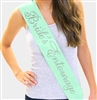 """Bride's Entourage"" Rhinestone Sash 
