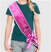 My 11th Birthday Rhinestone Sash | Premium Birthday Sashes | RhinestoneSash.com
