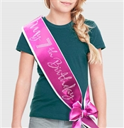 My 7th Birthday Rhinestone Sash