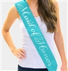 Maid Of Honor Rhinestone Sash | Bridal Sashes | RhinestoneSash.com