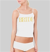 Gold Bride Sleep Set