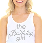 """The Birthday Girl"" Rhinestone Tank Top 