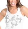 Birthday Girl Rhinestone Tank Top | Birthday Tank Tops | RhinestoneSash.com