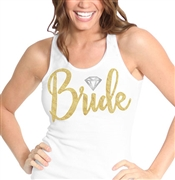 Gold Bride w/Diamond Tank