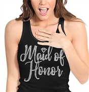 Maid of Honor w/Diamond Rhinestone Tank