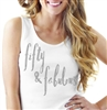Fifty & Fabulous Relaxed Tank Top
