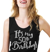 It's My 50th Birthday Relaxed Tank Top