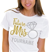 Future Mrs. Custom T-shirt