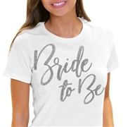 Bride to Be Glam Rhinestone Tee