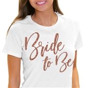 Glam Bride to Be Tee